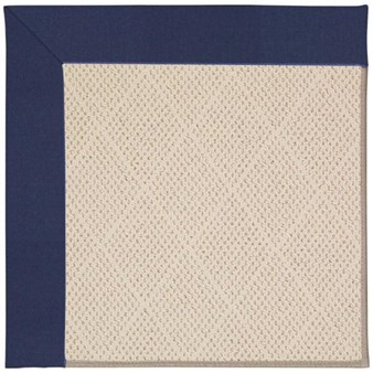 Capel Rugs Creative Concepts White Wicker - Canvas Royal Navy (467) Rectangle 12' x 15' Area Rug