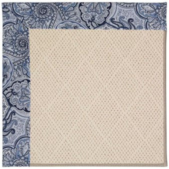 Capel Rugs Creative Concepts White Wicker - Paddock Shawl Indigo (475) Rectangle 12' x 15' Area Rug