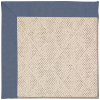 Capel Rugs Creative Concepts White Wicker - Canvas Sapphire Blue (487) Rectangle 12' x 15' Area Rug