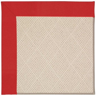 Capel Rugs Creative Concepts White Wicker - Canvas Jockey Red (527) Rectangle 12' x 15' Area Rug