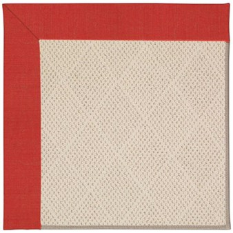 Capel Rugs Creative Concepts White Wicker - Dupione Crimson (575) Rectangle 12' x 15' Area Rug