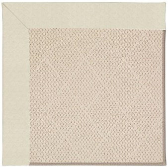 Capel Rugs Creative Concepts White Wicker - Canvas Sun Tile (612) Rectangle 12' x 15' Area Rug
