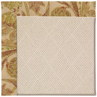 Capel Rugs Creative Concepts White Wicker - Cayo Vista Sand (710) Rectangle 12' x 15' Area Rug
