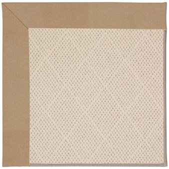 Capel Rugs Creative Concepts White Wicker - Canvas Camel (727) Rectangle 12' x 15' Area Rug