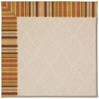 Capel Rugs Creative Concepts White Wicker - Vera Cruz Samba (735) Rectangle 12' x 15' Area Rug