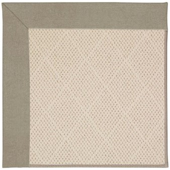 Capel Rugs Creative Concepts White Wicker - Canvas Taupe (737) Rectangle 12' x 15' Area Rug