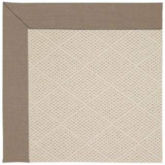 Capel Rugs Creative Concepts White Wicker - Shadow Wren (743) Rectangle 12' x 15' Area Rug