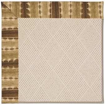 Capel Rugs Creative Concepts White Wicker - Java Journey Chestnut (750) Rectangle 12' x 15' Area Rug