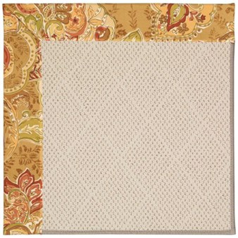 Capel Rugs Creative Concepts White Wicker - Tuscan Vine Adobe (830) Rectangle 12' x 15' Area Rug