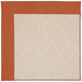 Capel Rugs Creative Concepts White Wicker - Canvas Rust (837) Rectangle 12' x 15' Area Rug