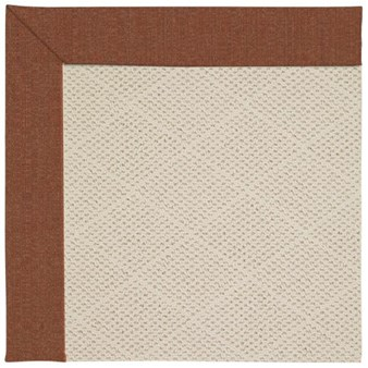 Capel Rugs Creative Concepts White Wicker - Linen Chili (845) Rectangle 12' x 15' Area Rug