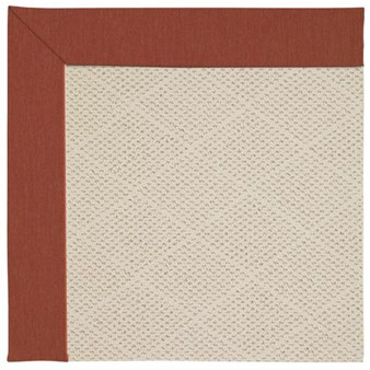 Capel Rugs Creative Concepts White Wicker - Canvas Brick (850) Rectangle 12' x 15' Area Rug