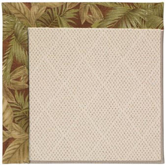 Capel Rugs Creative Concepts White Wicker - Bahamian Breeze Cinnamon (875) Rectangle 12' x 15' Area Rug