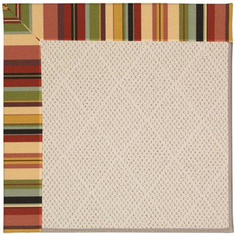 Capel Rugs Creative Concepts White Wicker - Sidewalk Lacquer-Ebony (920) Rectangle 12' x 15' Area Rug