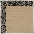 Capel Rugs Creative Concepts Sisal - Wild Thing Onyx (396) Octagon 4