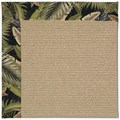 Capel Rugs Creative Concepts Sisal - Bahamian Breeze Coal (325) Octagon 8