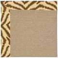 Capel Rugs Creative Concepts Sisal - Couture King Chestnut (756) Octagon 8