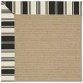 Capel Rugs Creative Concepts Sisal - Down The Lane Ebony (370) Octagon 10