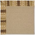 Capel Rugs Creative Concepts Sisal - Java Journey Chestnut (750) Octagon 10