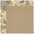Capel Rugs Creative Concepts Sisal - Cayo Vista Graphic (315) Octagon 12