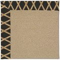 Capel Rugs Creative Concepts Sisal - Bamboo Coal (356) Octagon 12