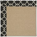 Capel Rugs Creative Concepts Sisal - Arden Black (346) Runner 2