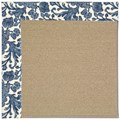 Capel Rugs Creative Concepts Sisal - Batik Indigo (415) Rectangle 3