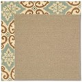 Capel Rugs Creative Concepts Sisal - Shoreham Spray (410) Rectangle 4