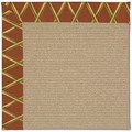 Capel Rugs Creative Concepts Sisal - Bamboo Cinnamon (856) Rectangle 5