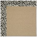 Capel Rugs Creative Concepts Sisal - Coral Cascade Ebony (385) Rectangle 6