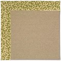 Capel Rugs Creative Concepts Sisal - Coral Cascade Avocado (225) Rectangle 7