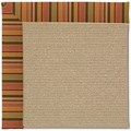 Capel Rugs Creative Concepts Sisal - Tuscan Stripe Adobe (825) Rectangle 7