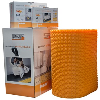 Schluter Ditra Heat E-Kit (5 Sheets, Cable and Thermostat)