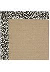 Capel Rugs Creative Concepts Sisal - Coral Cascade Ebony (385) Rectangle 9' x 12' Area Rug