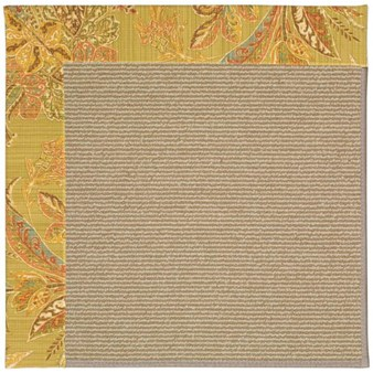 Capel Rugs Creative Concepts Sisal - Cayo Vista Tea Leaf (210) Rectangle 12' x 15' Area Rug