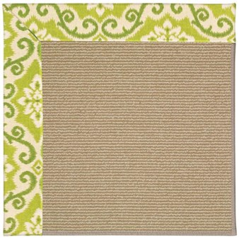 Capel Rugs Creative Concepts Sisal - Shoreham Kiwi (220) Rectangle 12' x 15' Area Rug