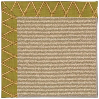 Capel Rugs Creative Concepts Sisal - Bamboo Tea Leaf (236) Rectangle 12' x 15' Area Rug