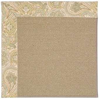 Capel Rugs Creative Concepts Sisal - Paddock Shawl Mineral (310) Rectangle 12' x 15' Area Rug