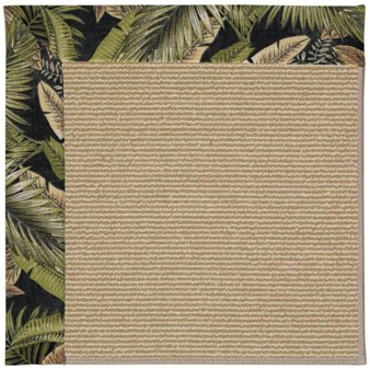 Capel Rugs Creative Concepts Sisal - Bahamian Breeze Coal (325) Rectangle 12' x 15' Area Rug