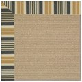 Capel Rugs Creative Concepts Sisal - Long Hill Ebony (340) Rectangle 12