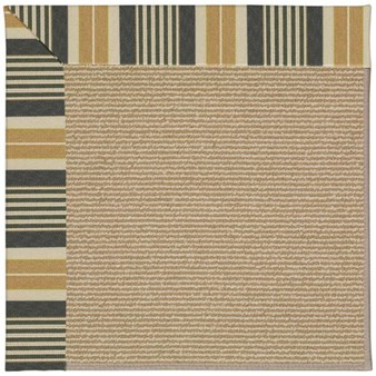 Capel Rugs Creative Concepts Sisal - Long Hill Ebony (340) Rectangle 12' x 15' Area Rug