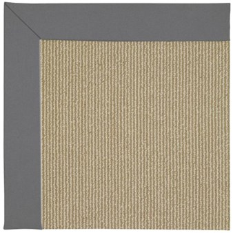 Capel Rugs Creative Concepts Sisal - Canvas Charcoal (355) Rectangle 12' x 15' Area Rug