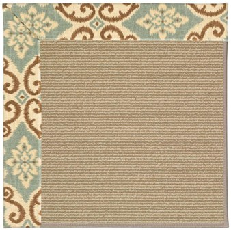 Capel Rugs Creative Concepts Sisal - Shoreham Spray (410) Rectangle 12' x 15' Area Rug