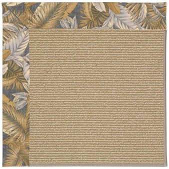 Capel Rugs Creative Concepts Sisal - Bahamian Breeze Ocean (420) Rectangle 12' x 15' Area Rug