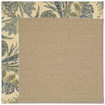 Capel Rugs Creative Concepts Sisal - Cayo Vista Ocean (425) Rectangle 12' x 15' Area Rug