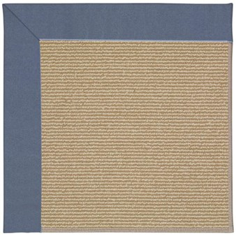 Capel Rugs Creative Concepts Sisal - Canvas Sapphire Blue (487) Rectangle 12' x 15' Area Rug