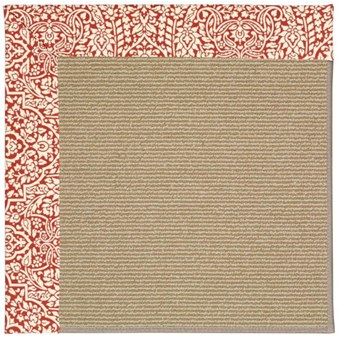 Capel Rugs Creative Concepts Sisal - Imogen Cherry (520) Rectangle 12' x 15' Area Rug