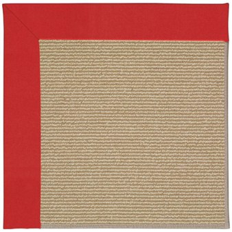 Capel Rugs Creative Concepts Sisal - Canvas Jockey Red (527) Rectangle 12' x 15' Area Rug