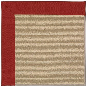 Capel Rugs Creative Concepts Sisal - Canvas Cherry (537) Rectangle 12' x 15' Area Rug