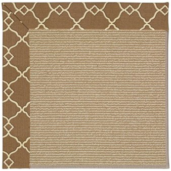 Capel Rugs Creative Concepts Sisal - Arden Chocolate (746) Rectangle 12' x 15' Area Rug